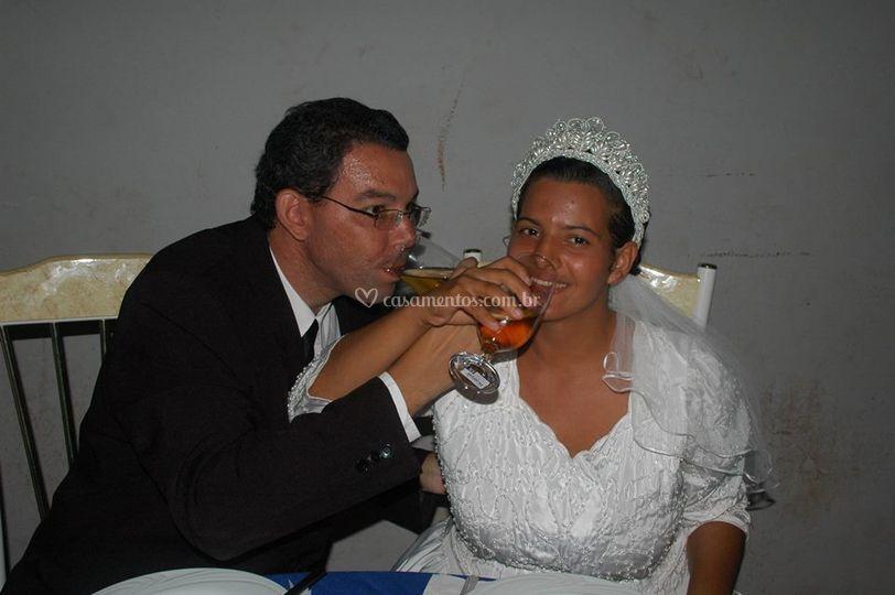 Brinde aos noivos