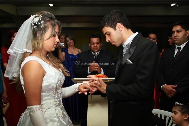 Aliança da noiva