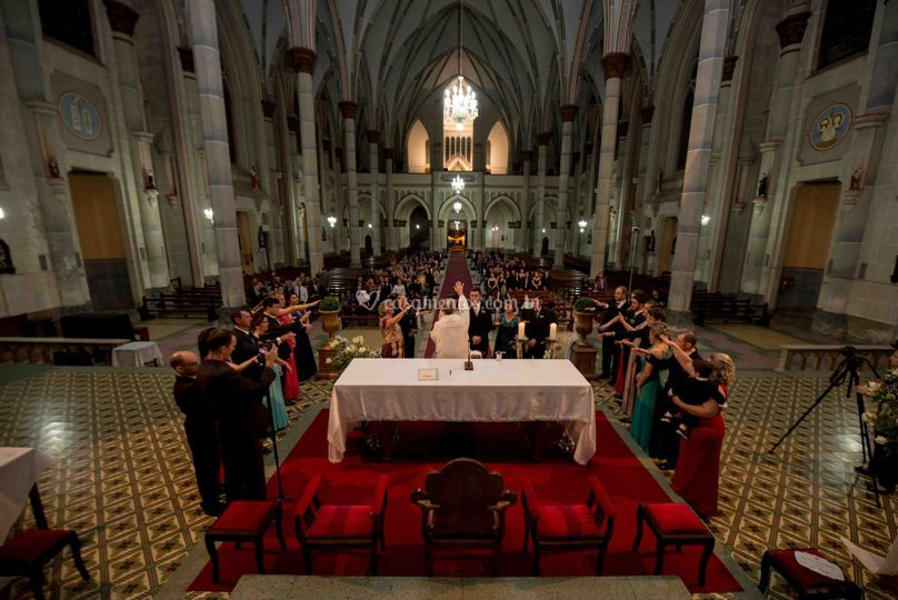 Cerimonia na catedral