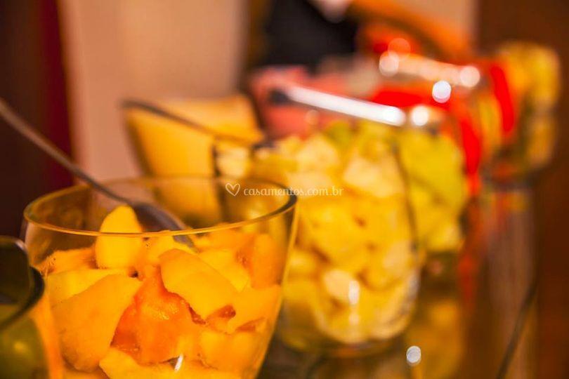 Mesa de fruta