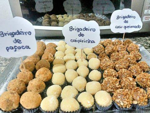 Paçoca/caipirinha/coco