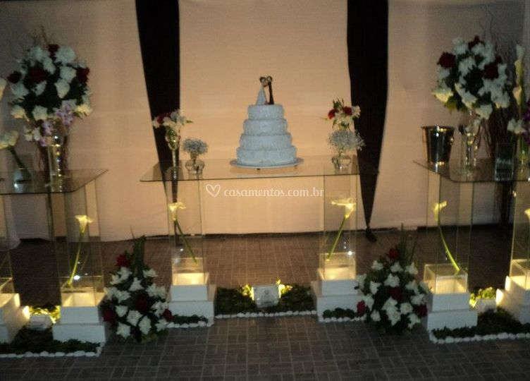 Decoração do casamento