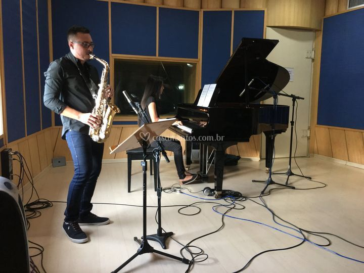 Saxofone e piano