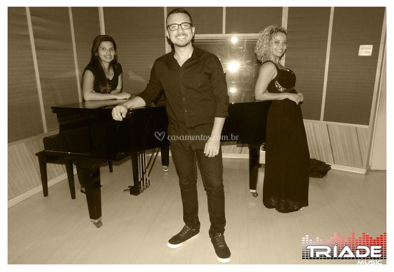 Trio - Sax, voz e piano