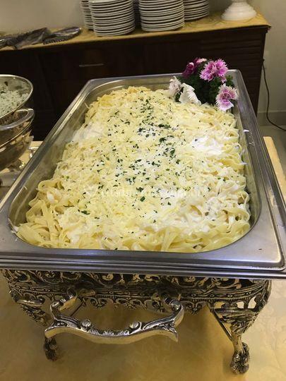 Fettuccine ao quatro queijo