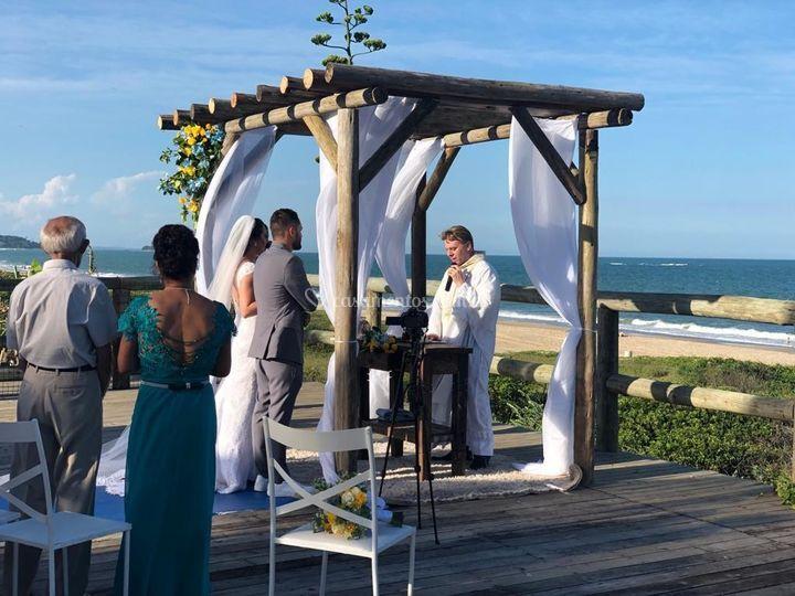 Deck casamento