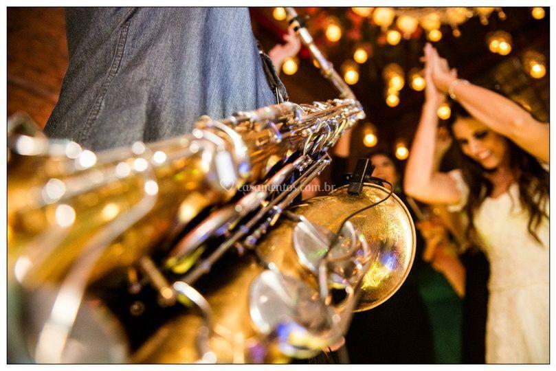 Saxofone festa