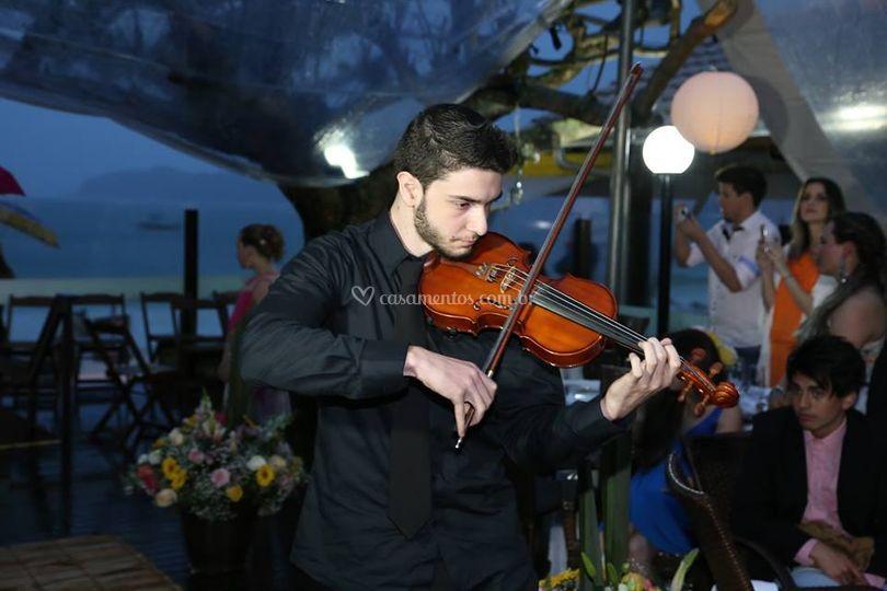 Violino - Cerimônia Bombinhas