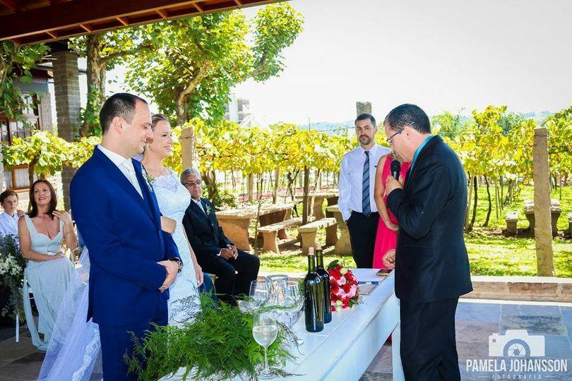 Casamento no Vale dos Vinhedos
