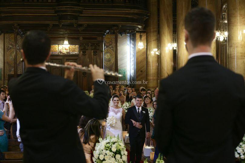 Flauta no altar