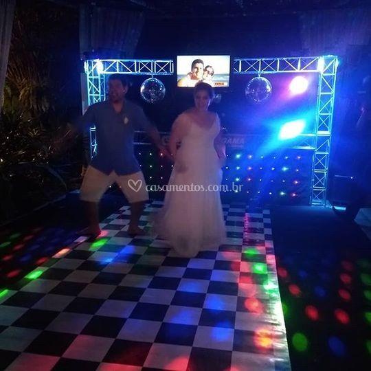 Dança dos noivos renata e atil