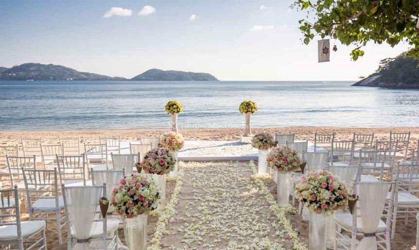 Assessoria casamentos na praia