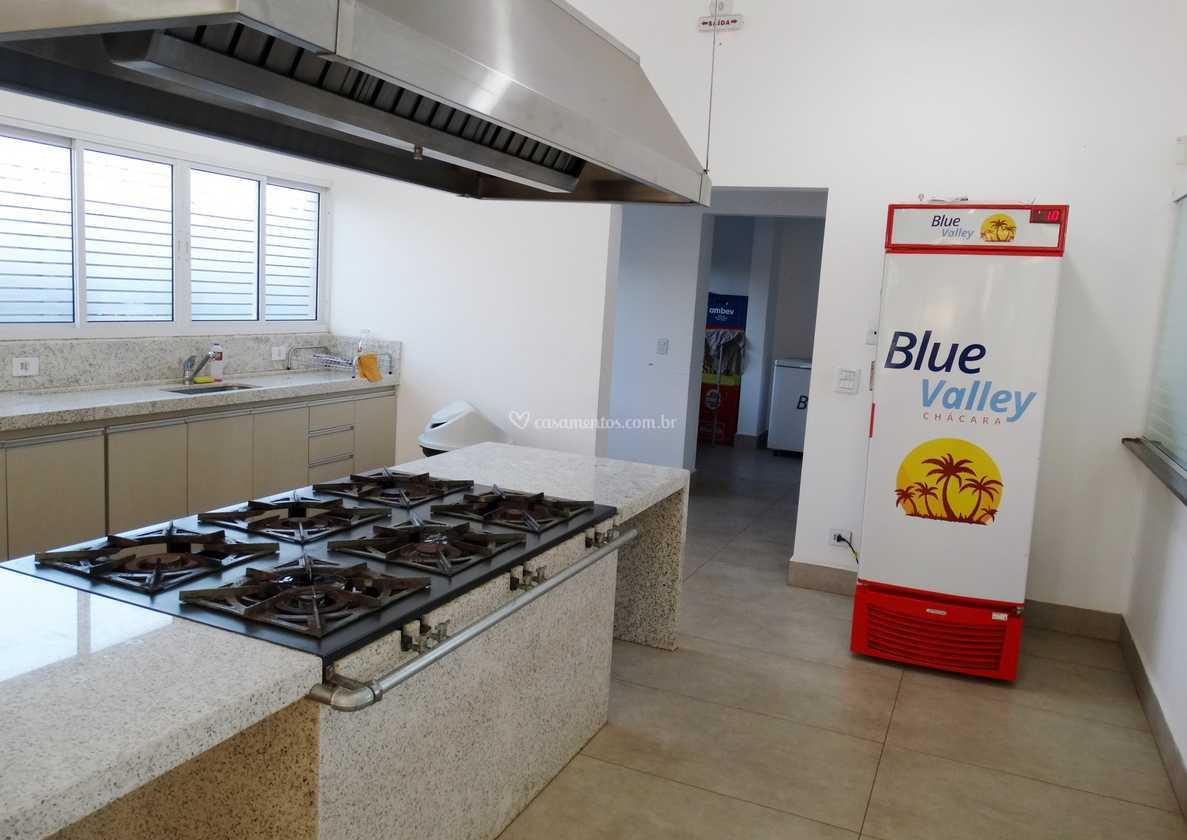 Cozinha Industrial Completa De Blue Valley Ch Cara Foto 10