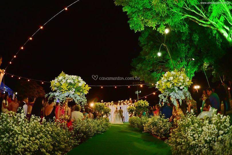 Casamento no campo de Impacto Eventos