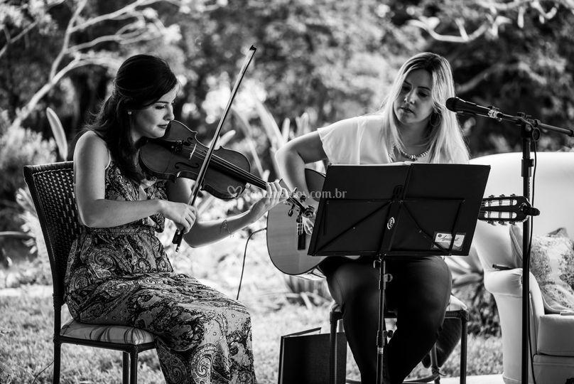 Dueto violino e violão/voz