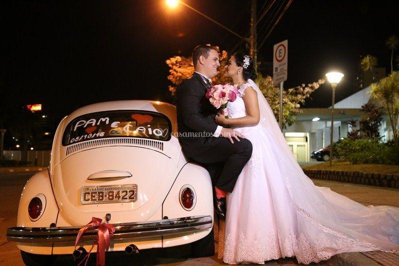 Fusca e casamento