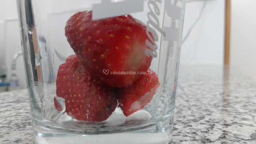 Drink de Morango Sem Álcool