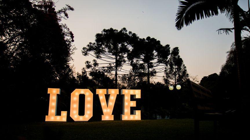 Love para fotos