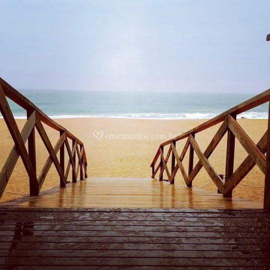 Rampa de Acesso a Praia