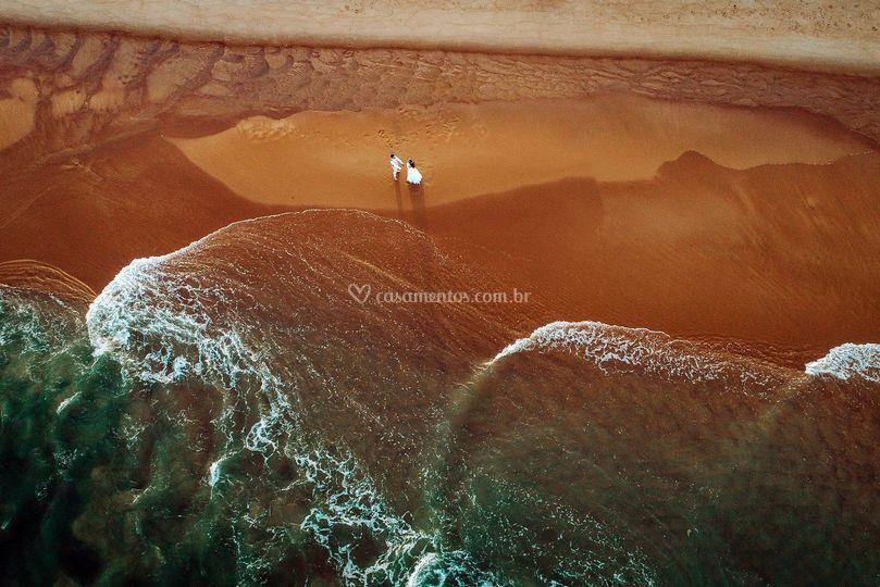 Areia vermelha