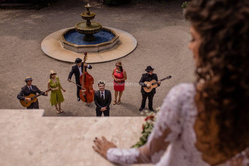Serenata para noiva
