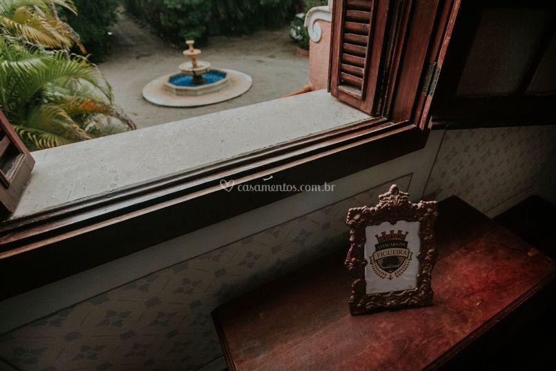 Vista sala da noiva