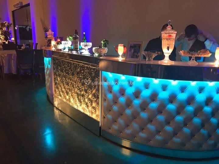 Bar decorado