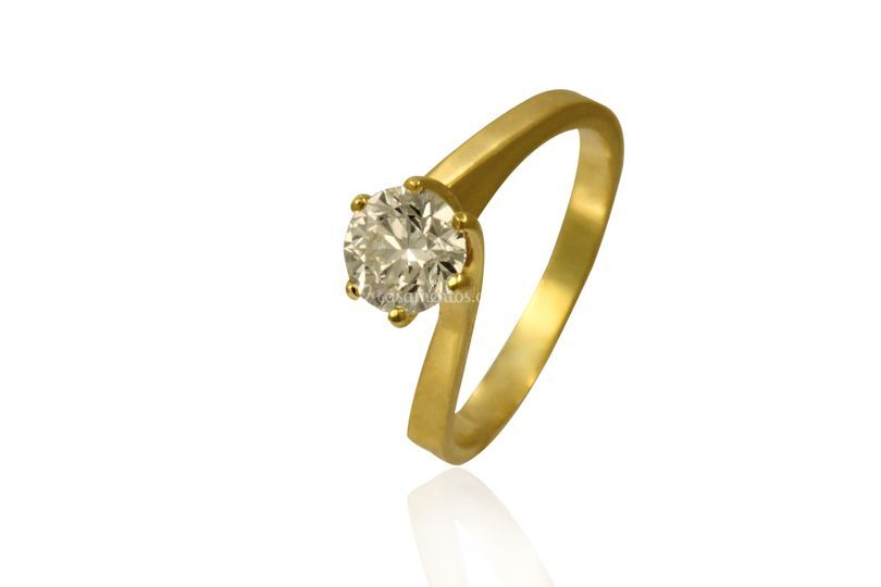 Anel ouro 18k - AN05729
