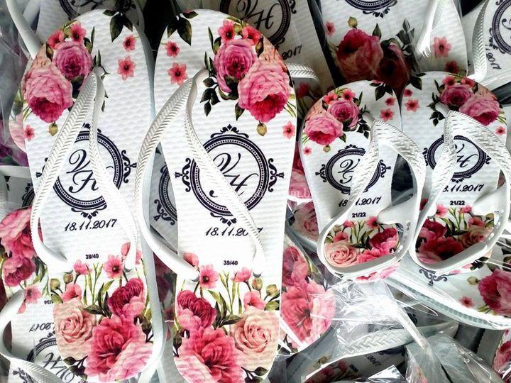 Modelo casamento - Floral.