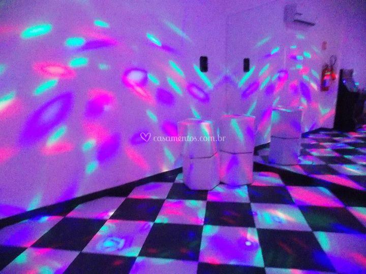 Boate e pista de dança