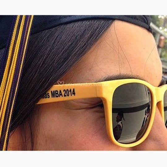 Óculos personalizados hastes