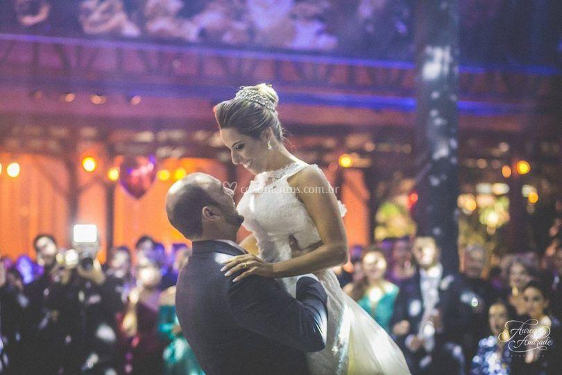 Noivos Juliana e Sandro