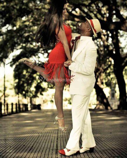 Luiz e Denise: os coreógrafos