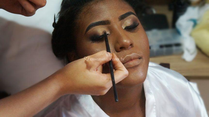 Produção Maquiagem