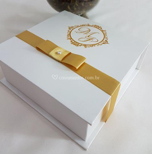 Convite de Casamento em Carton