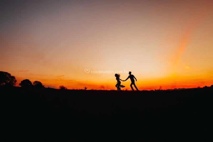 Ensaio de casal em Holambra