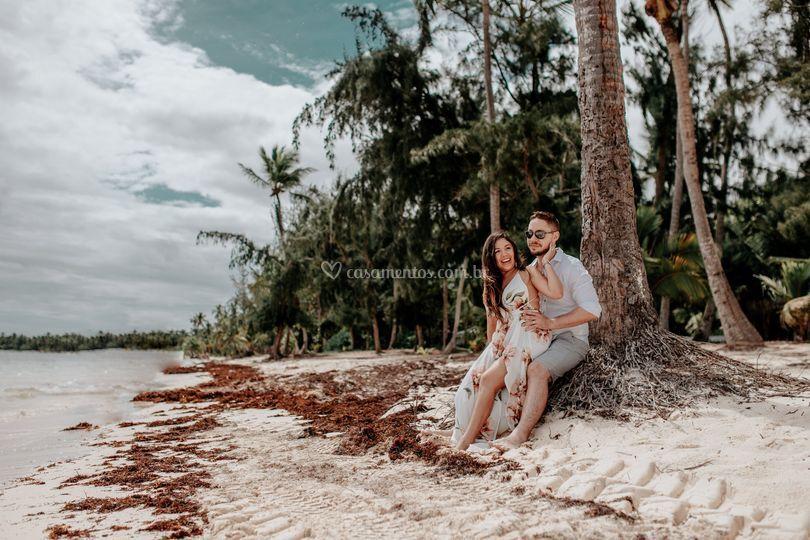 Ensaio de casal em Punta Cana