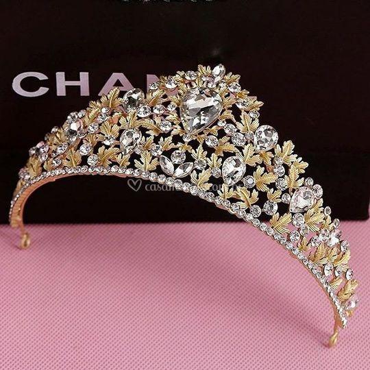 Coroa Dourada, super delicada!
