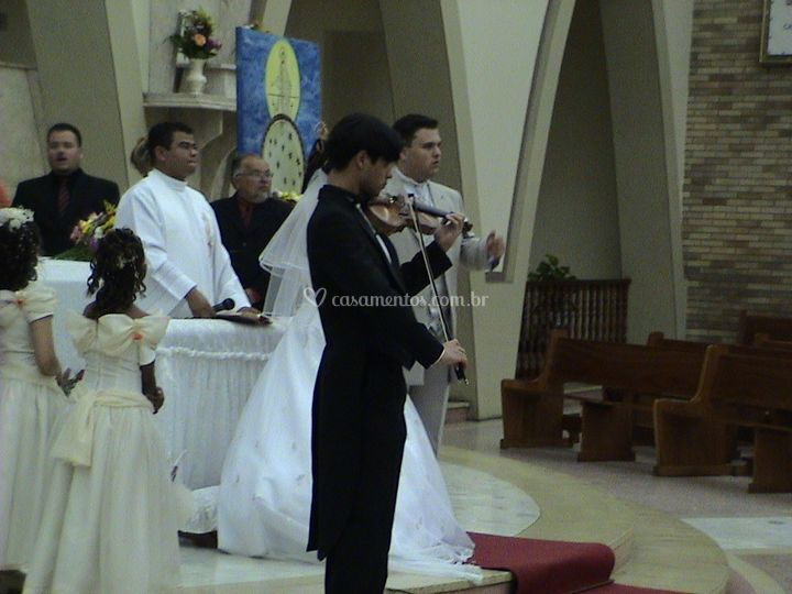 Violino no altar