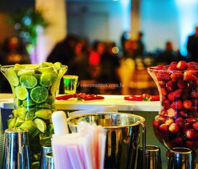 Bar de drinks!