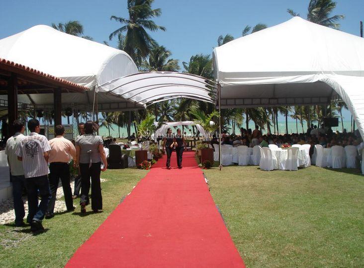 Decoração do casamento de Espaço Adepol Festas e Eventos