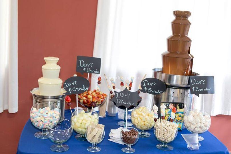 Lambuzando Eventos Cascatas de Chocolate