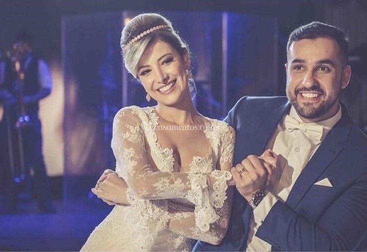 Noivos: Marina e Felipe