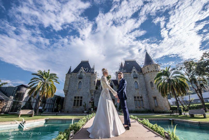 Noivos castelo de Itaipava