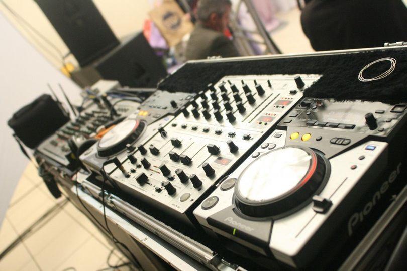 DJ para som ambiente