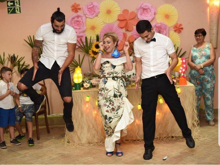 Dança com a aniversariante