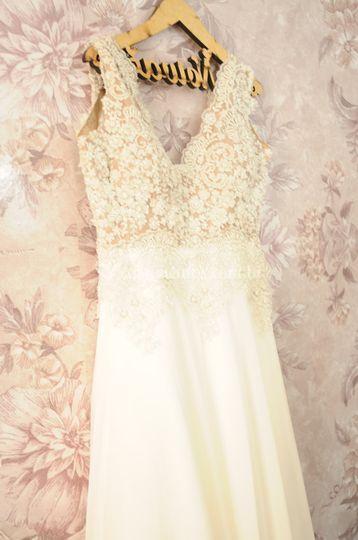 O vestido tão esperado