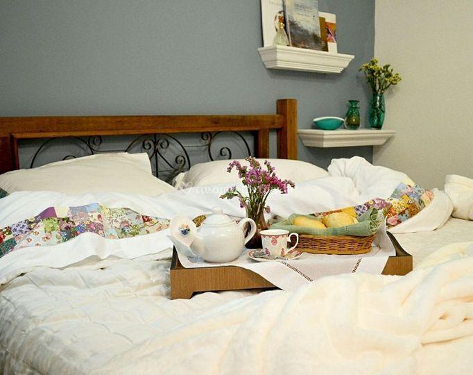 Nossa roupa de cama bordada