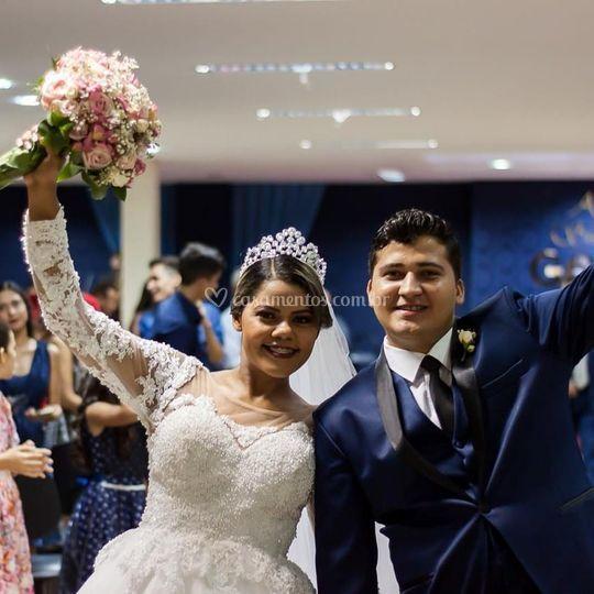Casamento Dacia e Joabe