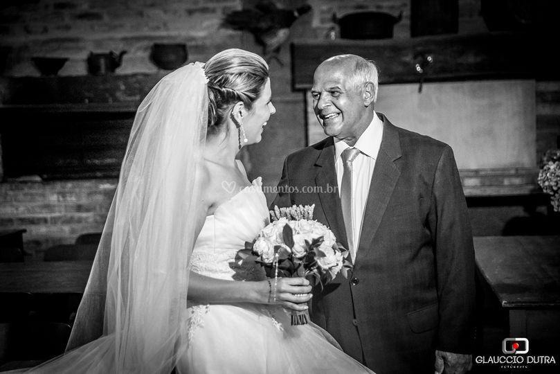Noiva com o pai